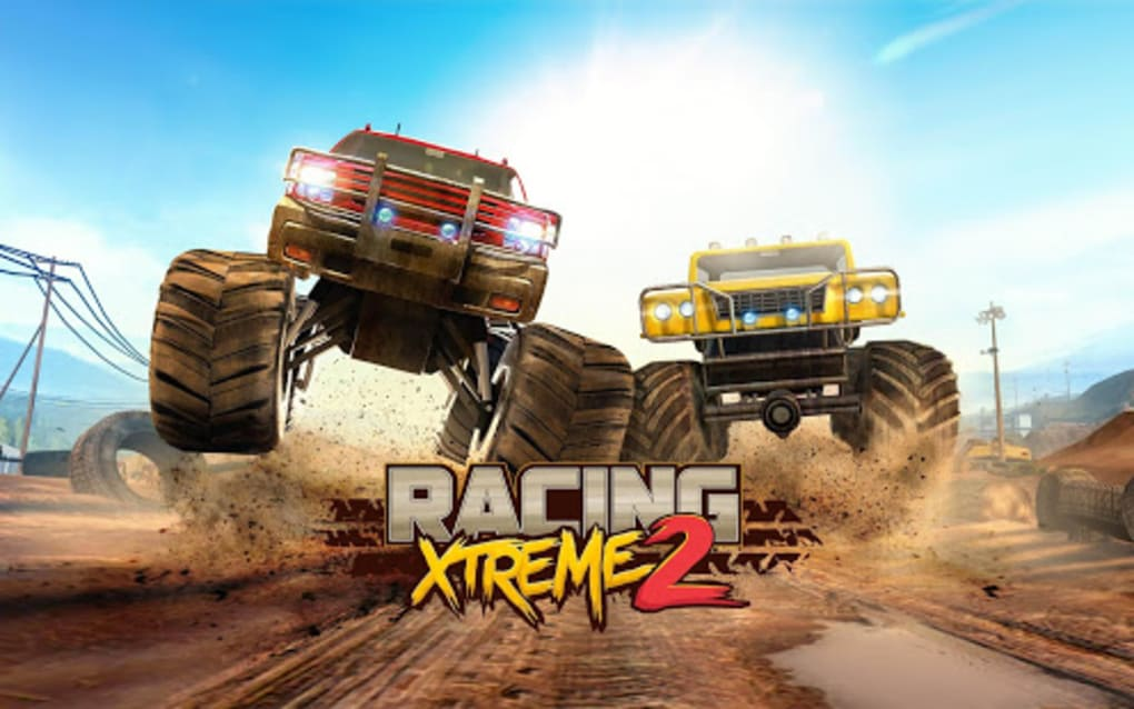 Free][game][4. 0+] racing xtreme 2 monster truck racing game.