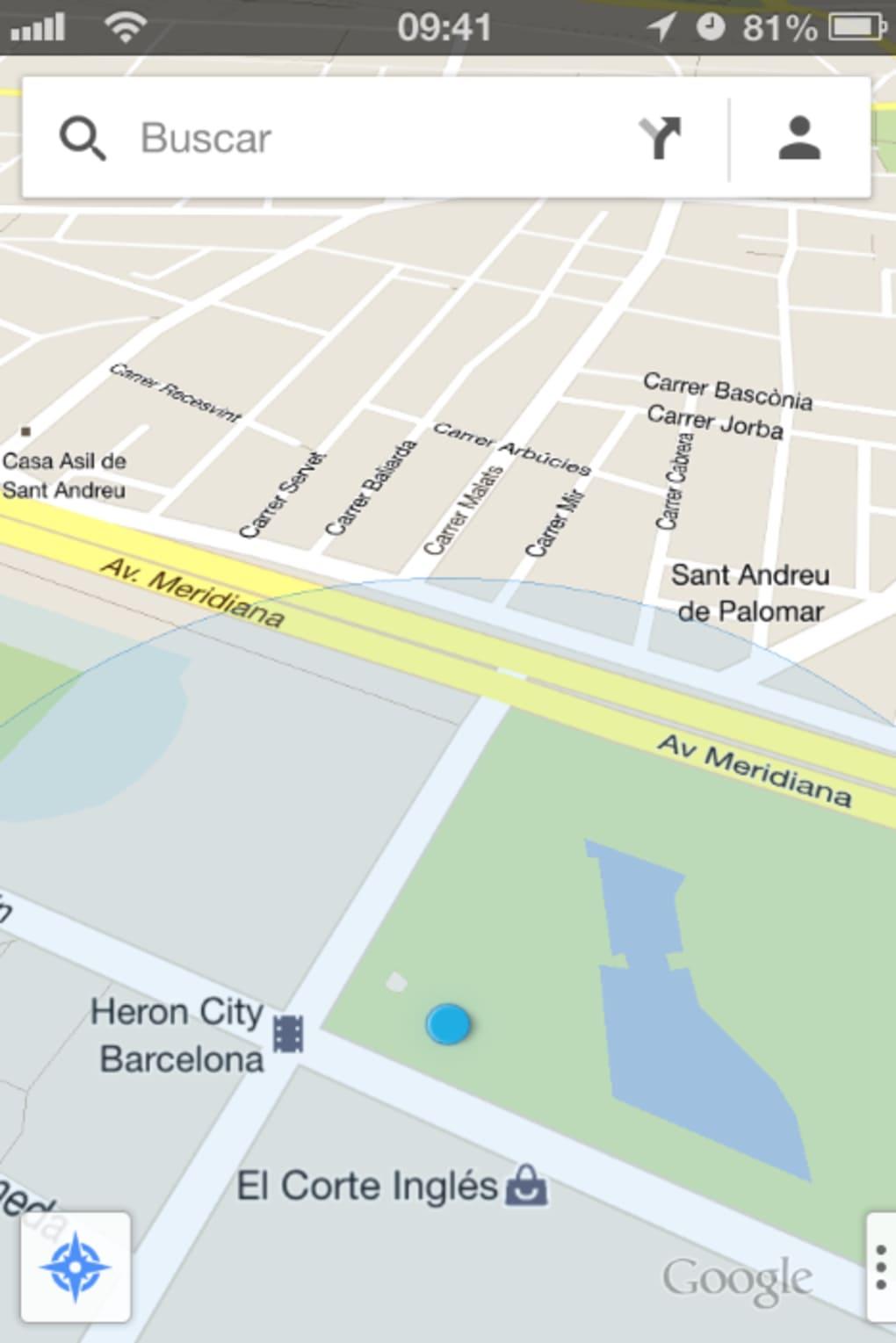 mappe offline google maps ipad