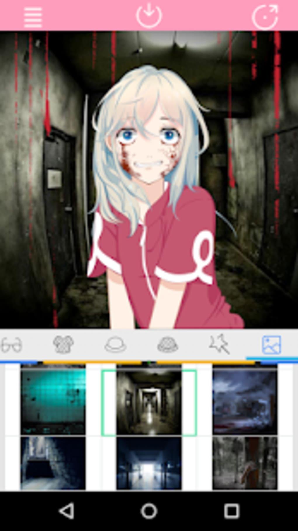 Anime avatar maker creepy scream factory