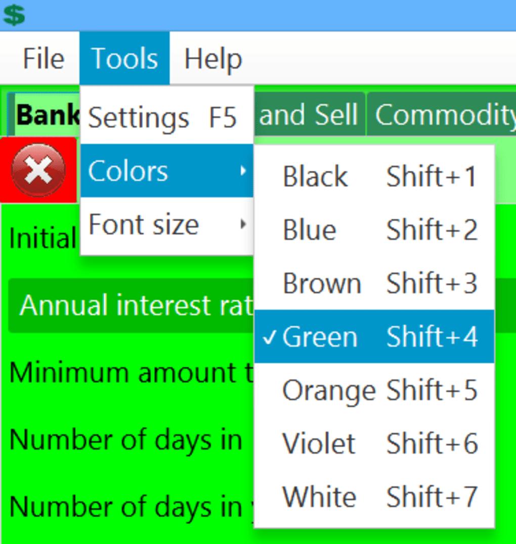 downloadable financial calculators