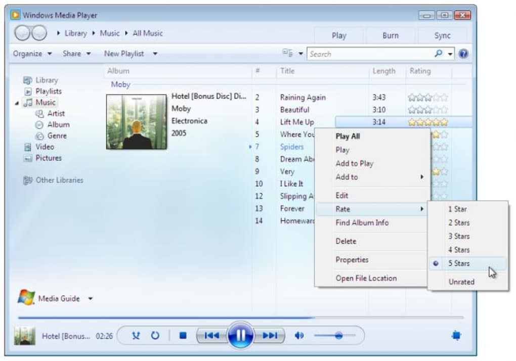 Windows Media Player - Windows ヘルプ