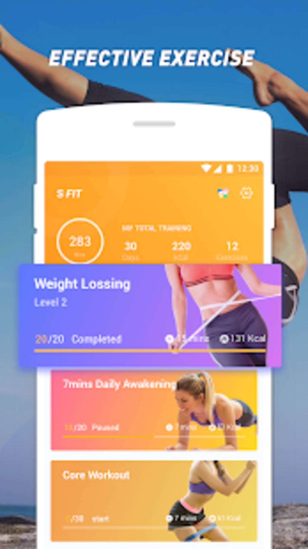 Easy Fit Home Workout Lose Weight for Android - Download