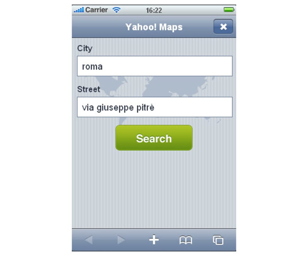 Yahoo! Maps for iPhone - Download on mapblast driving directions, travelocity driving directions, need map for driving directions, amazon driving directions, mapquest driving directions,