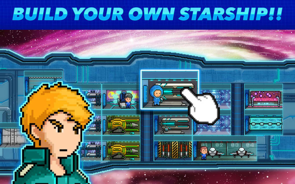 Pixel Starships Space MMORPG for Mac - Download
