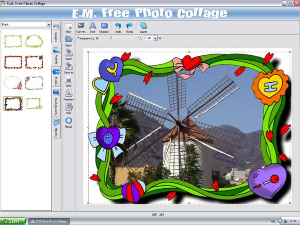 E.M. Free Photo Collage - Descargar
