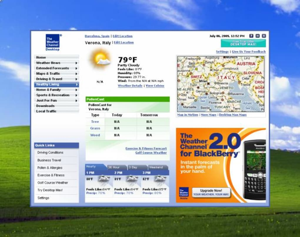 the weather channel desktop
