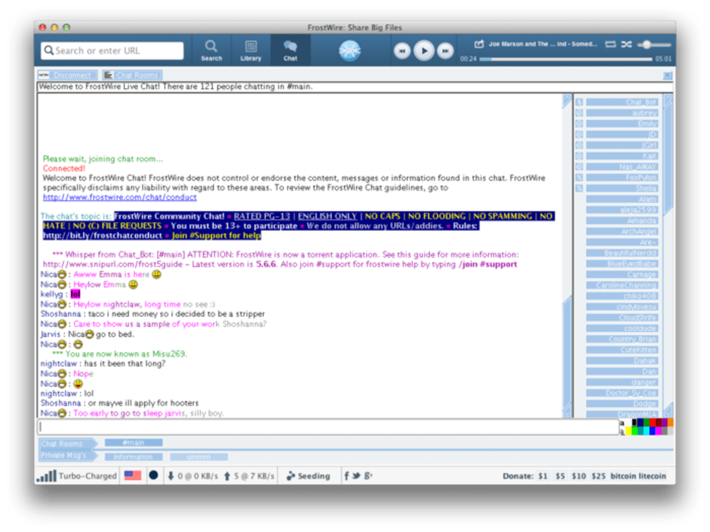 FrostWire for Mac - Download