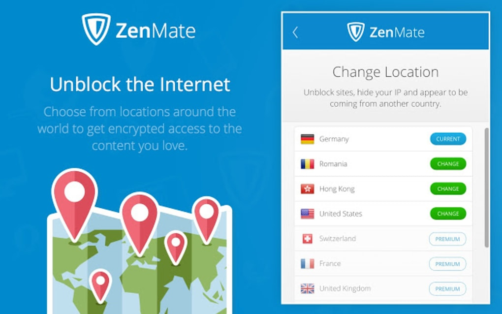 ZenMate VPN 2019 Free Download Trial Version for Windows 7/10