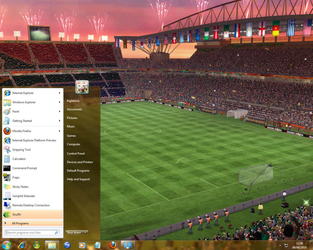Deli-frost 2010 fifa world cup south africa full game free pc.