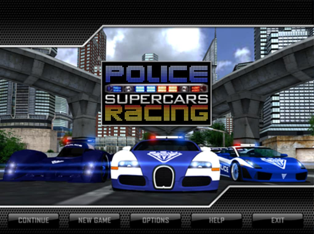Police Supercar racing for PC