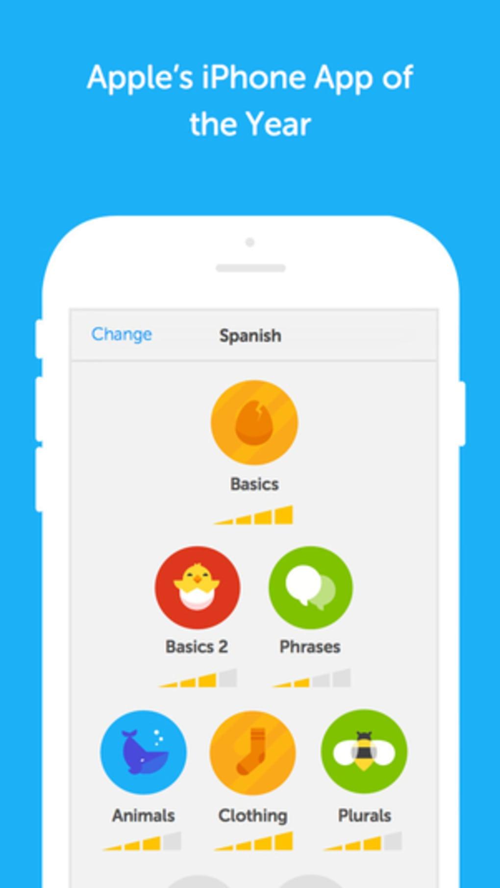 Duolingo لنظام iPhone - تنزيل
