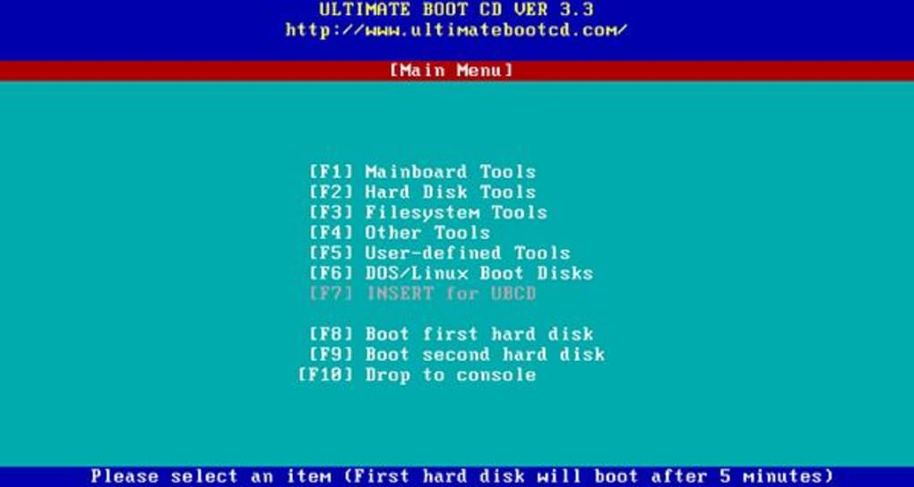 Ultimate Boot CD - Download