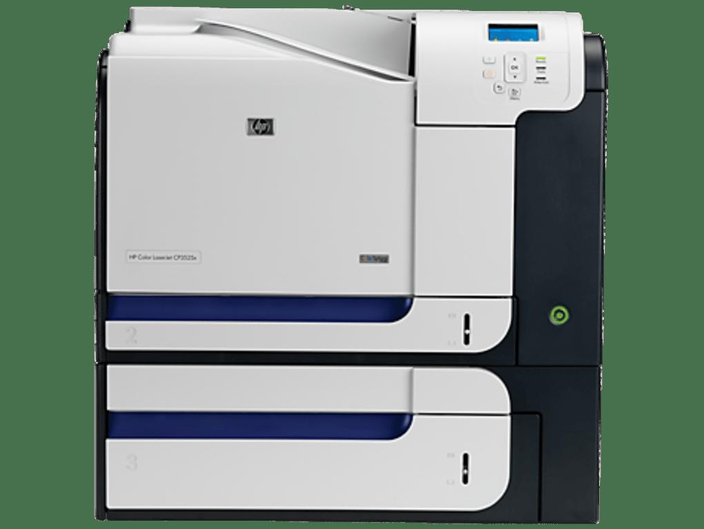 HP Color LaserJet CP3525x Printer drivers - Download