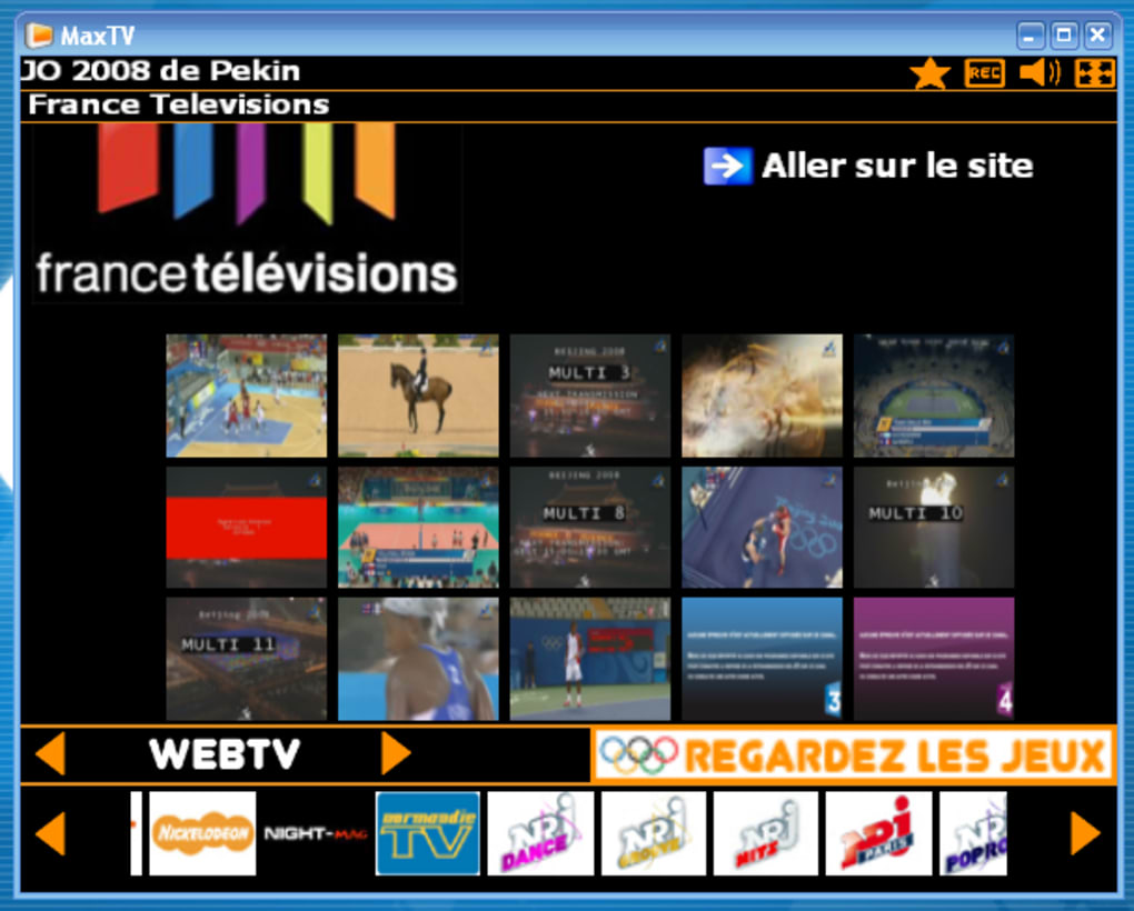 TÉLÉCHARGER MAX TV 4.0.9