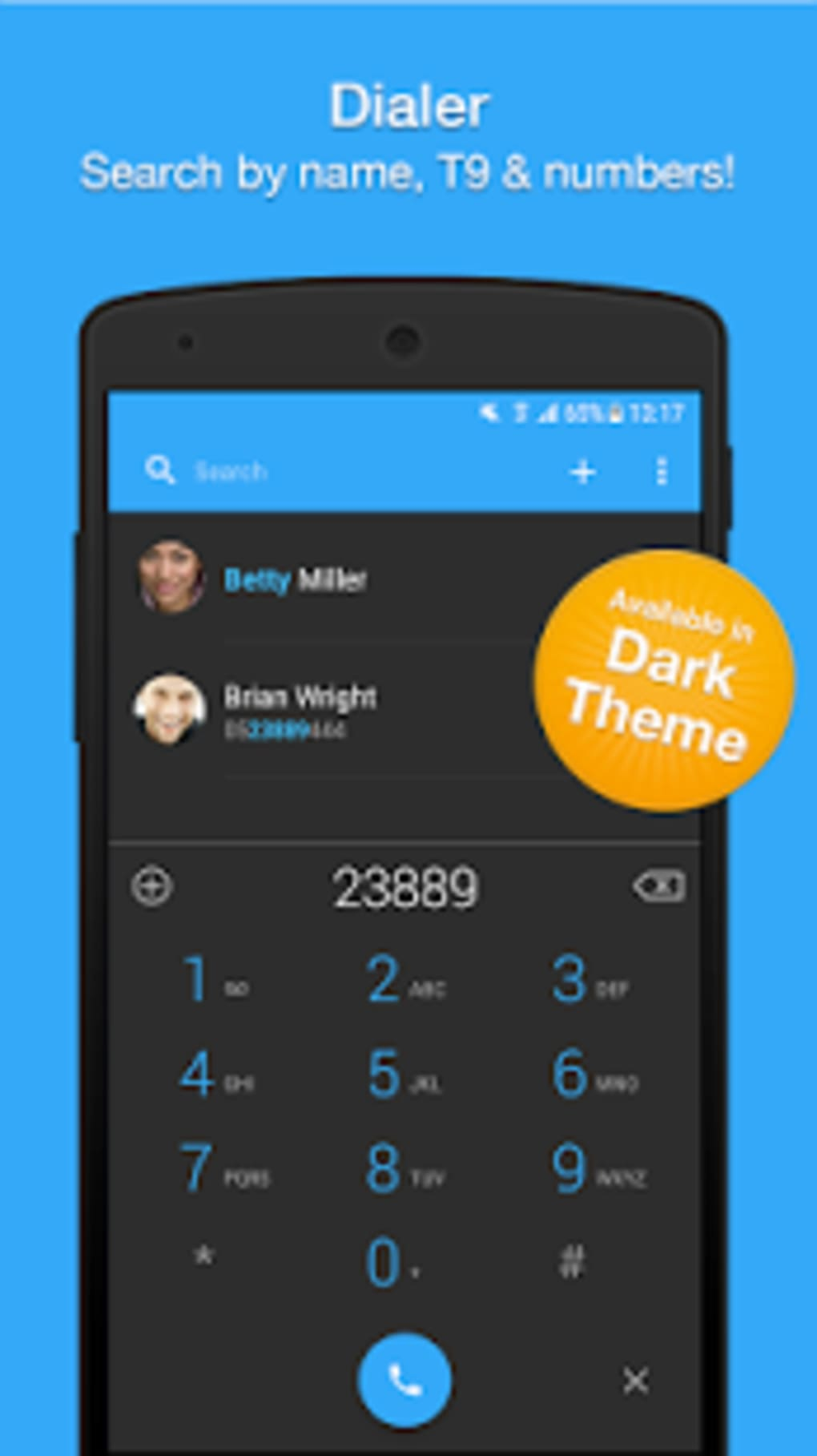 Dialer Phone Call Block Contacts by Simpler for Android - Download