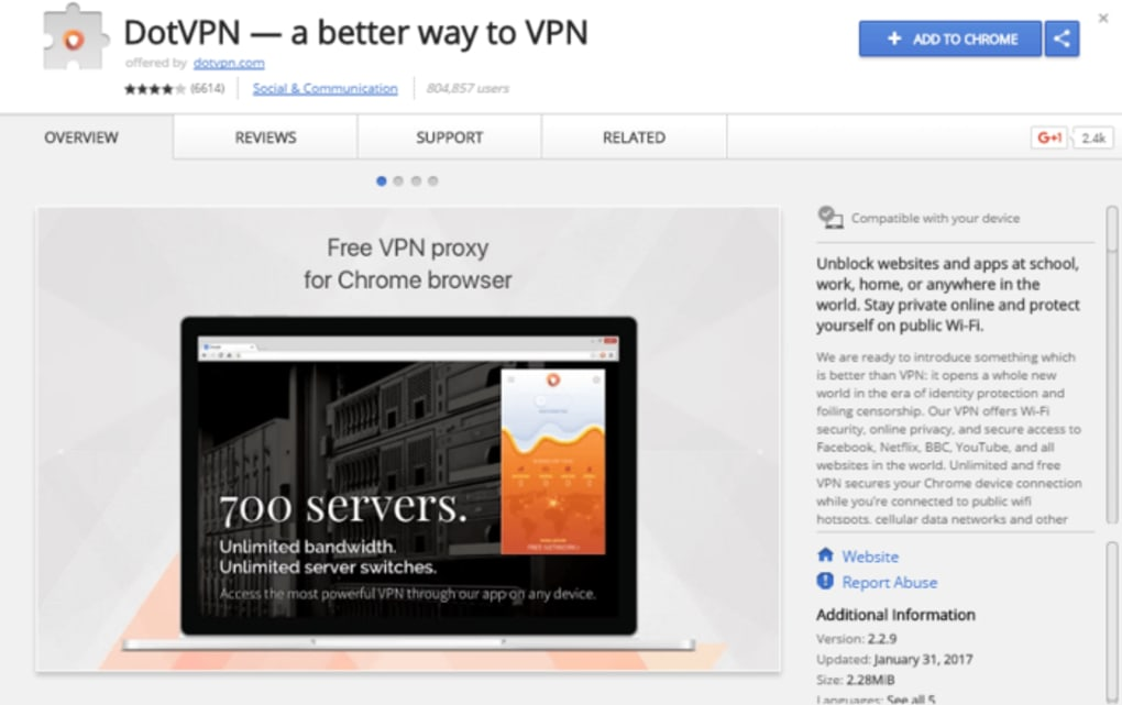 DotVPN — a better way to VPN - Download