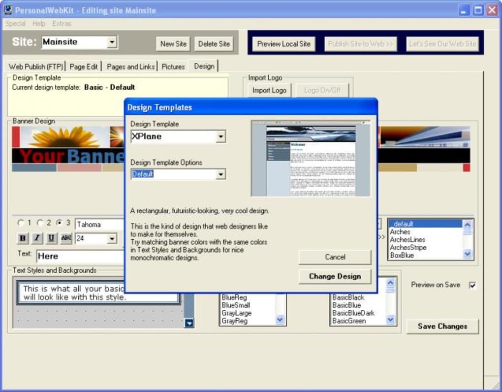 personalwebkit 3.31