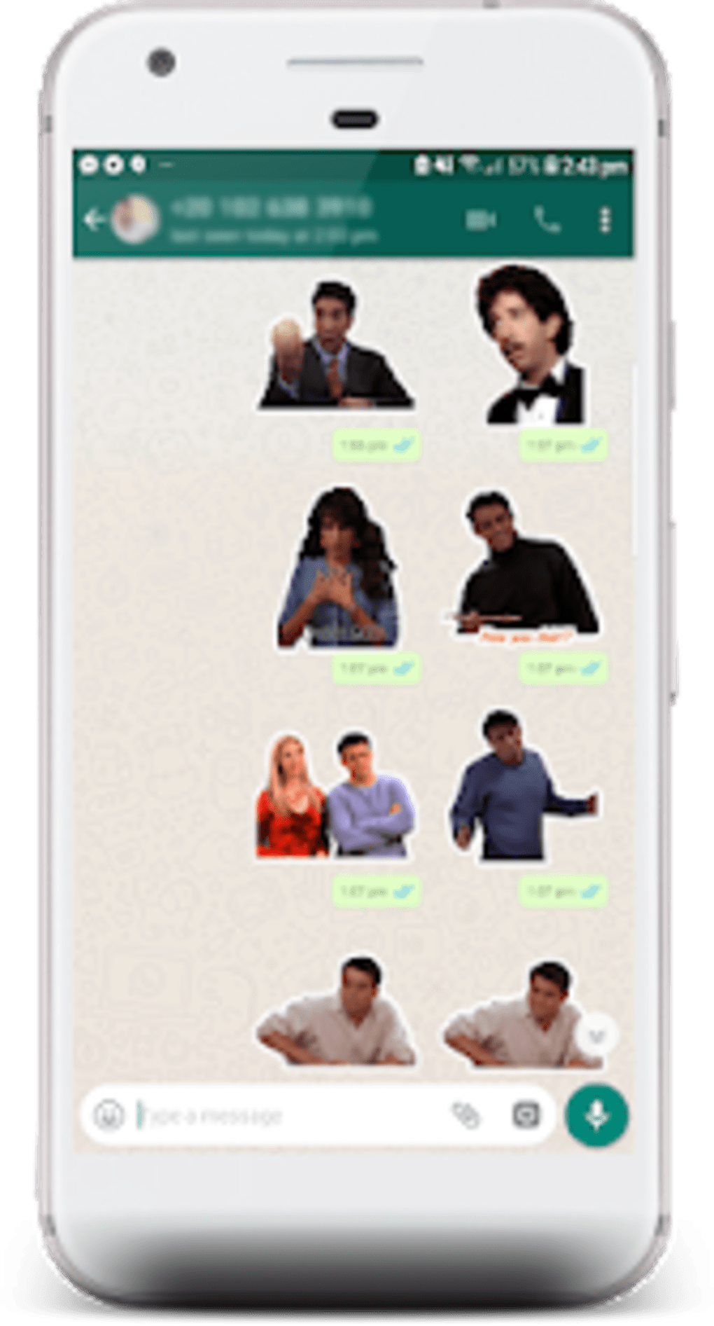 Friends Tv Show Sticker For Whatsapp Para Android Descargar