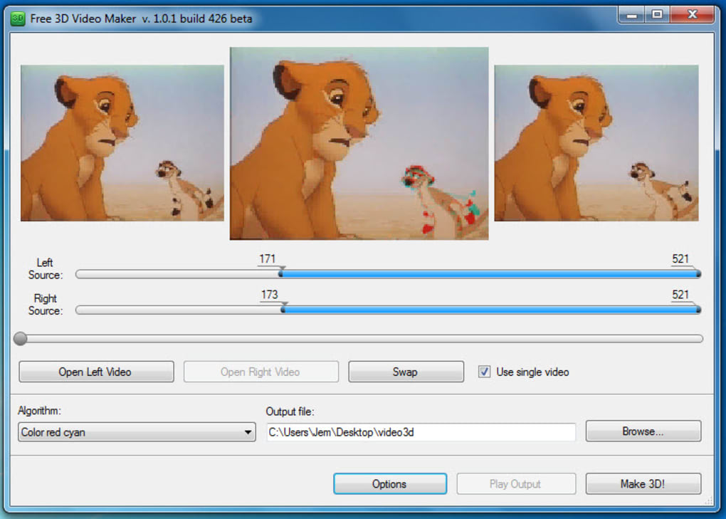 Free 3D Video Maker - Download