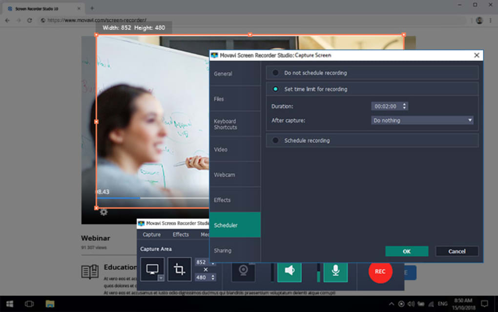 Movavi Screen Recorder 21.1.0 Crack With Activation Key Full Version