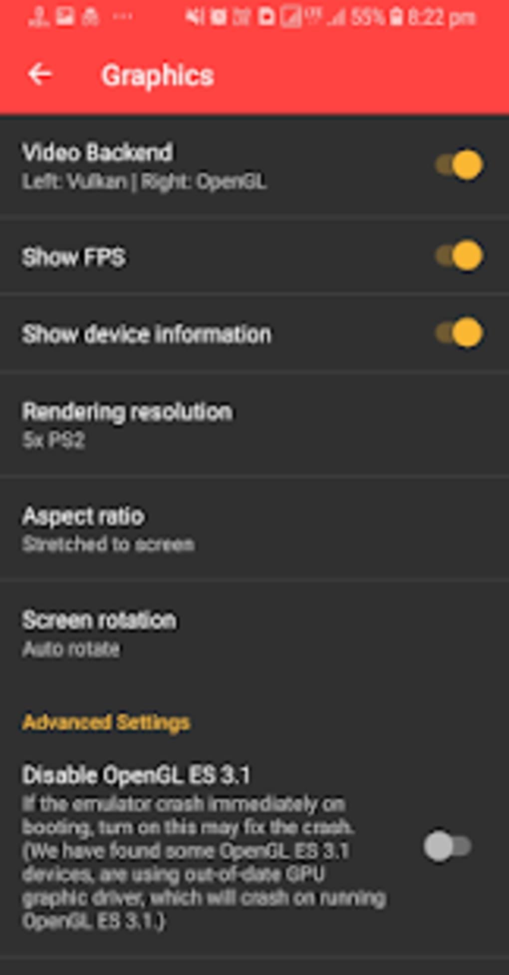ps2 emulator iphone