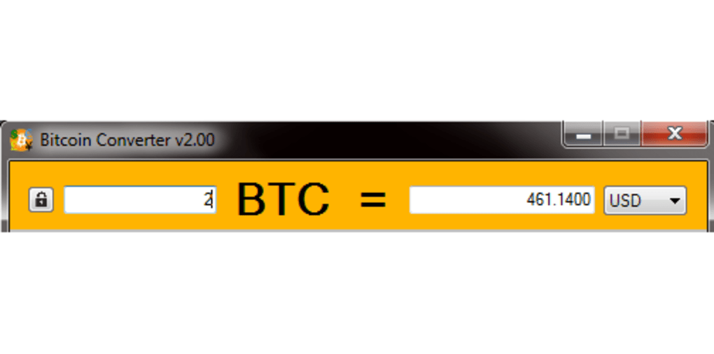 Bitcoin Converter