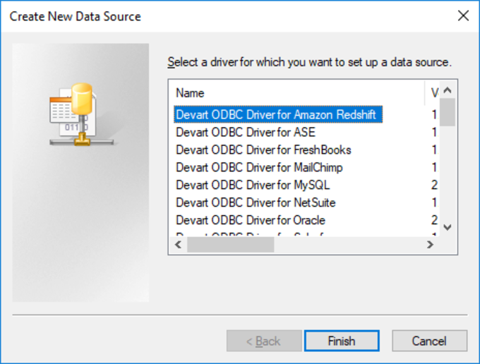 ODBC Driver for Amazon Redshift