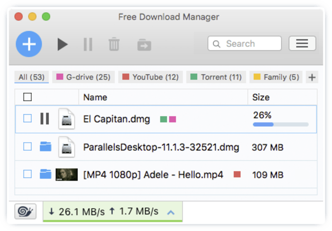 Free Download Manager for Mac