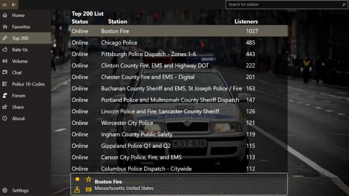 Official Police Radio Scanner 5-0