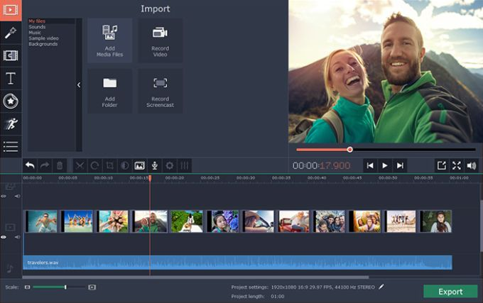 Movavi Video Editor Business for Mac