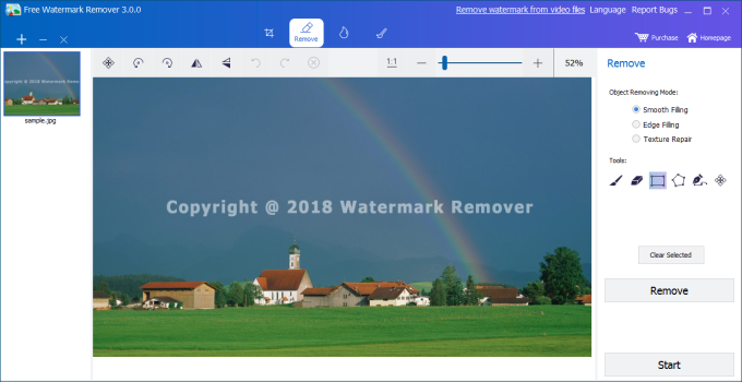 Free Watermark Remover