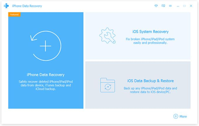 Apeaksoft iPhone Data Recovery