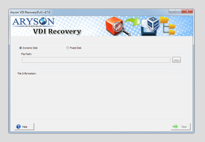 Aryson for VirtualBox VDI Recovery