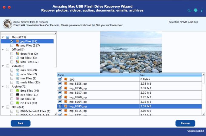 Mac USB Flash Drive Recovery Wizard