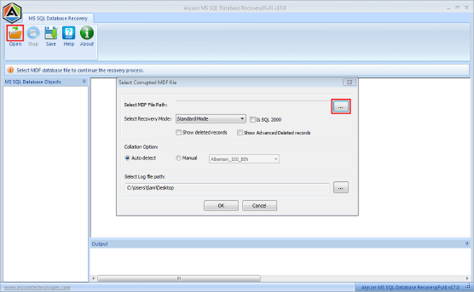 SQL Database Recovery Tools