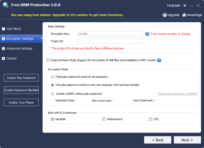 Free DRM Protection