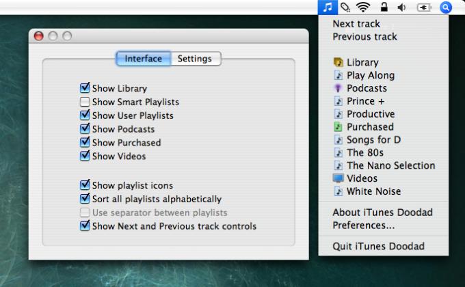 iTunes Doodad