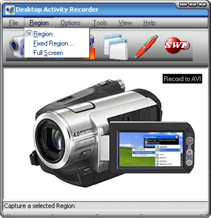 Desktop Activity Recorder