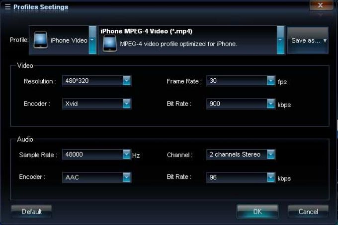 AQ iPhone Video Converter