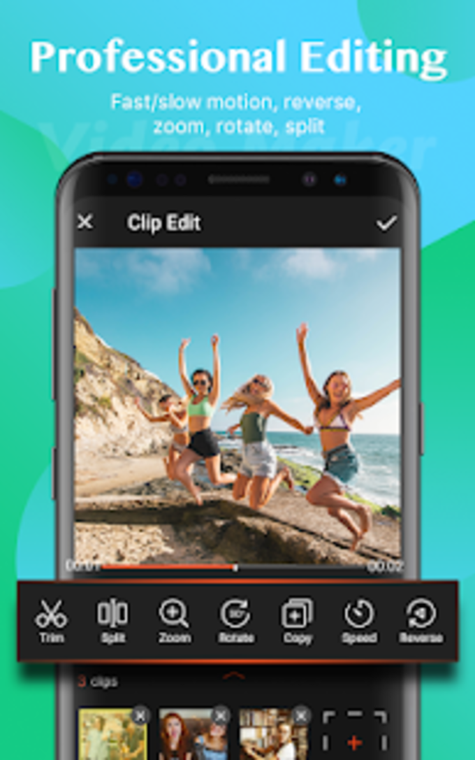 Video Maker  Free Video Editor with Photos Music