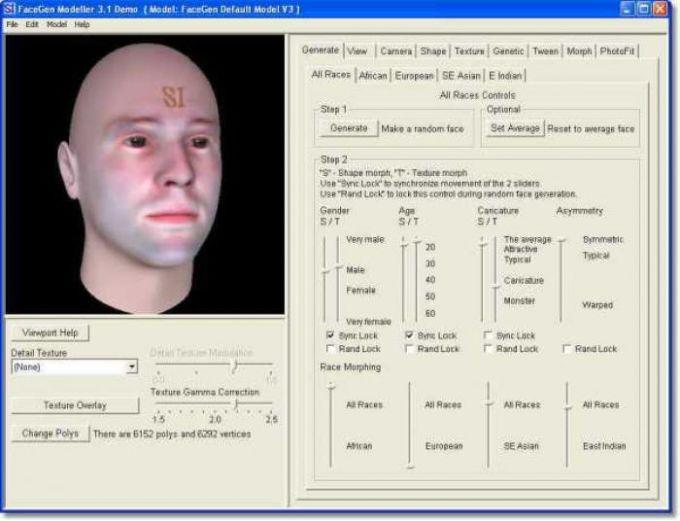 FaceGen Modeller