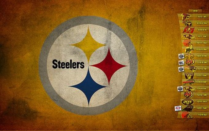 2010 Pittsburgh Steelers Wallpaper Schedule