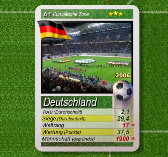 32 Cards Germany 2006 World Cup Edition
