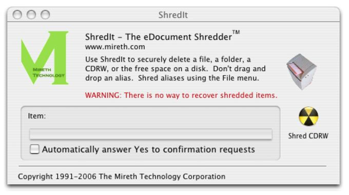 ShredIt X