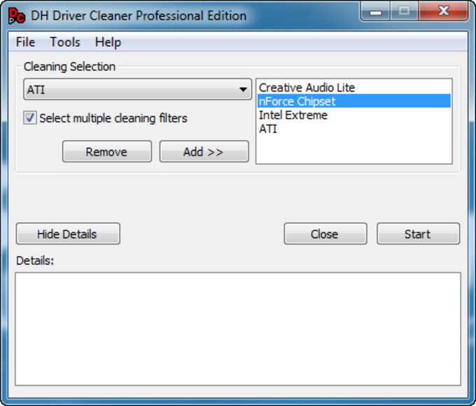 Driver Cleaner PE