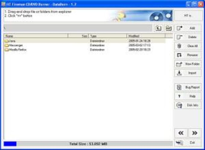 Honestech HT Fireman CD/DVD Burner