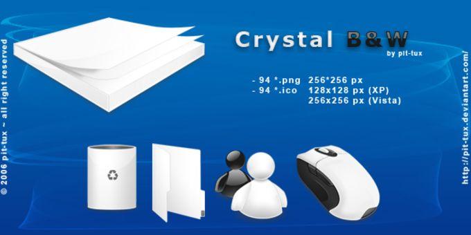 Crystal B&W