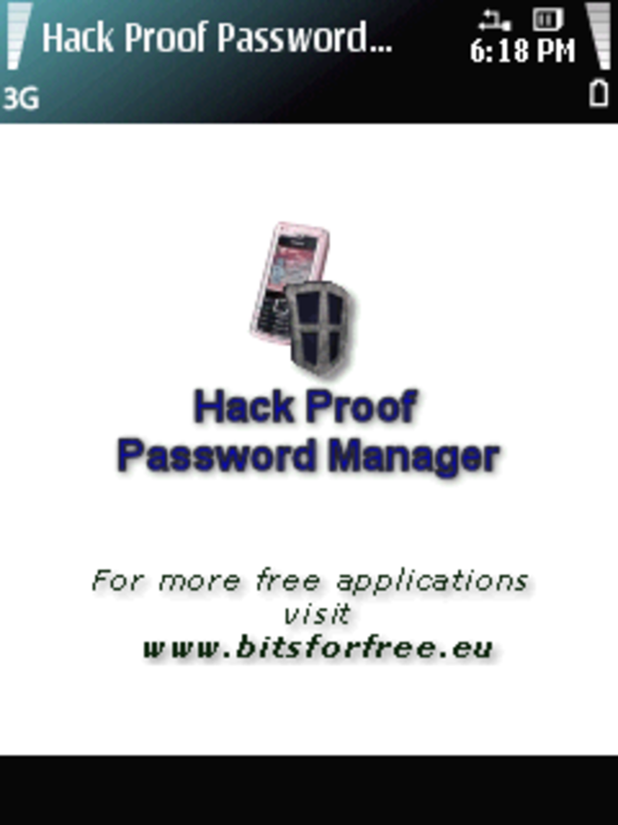 Hack Proof Password Manager