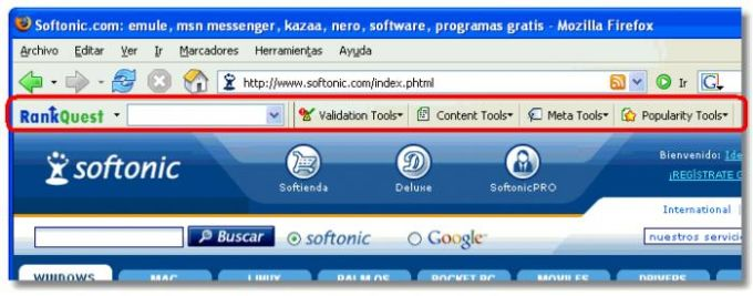 Rankquest SEO Toolbar