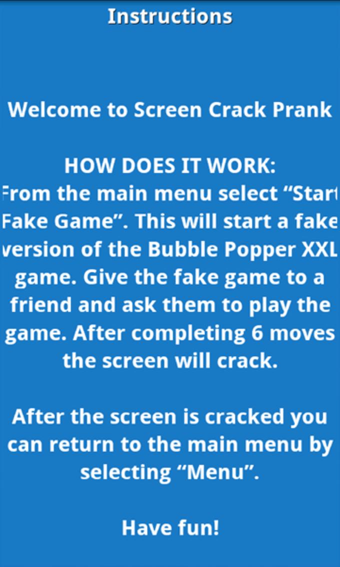 Screen Crack Prank